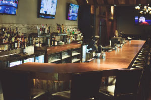 The bar at Foundry Kitchen and Bar