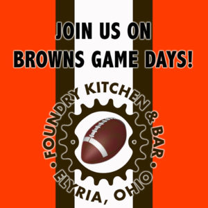 Cleveland Browns Football at Foundry!