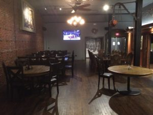 Dining room at Foundry Restaurant in Elyria