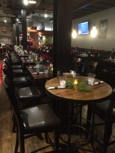 Main dining area at Foundry Kitchen & Bar restaurant